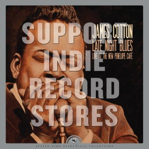 RSD19 JAMES COTTON Late Night Blues (Live At The New Penelope)