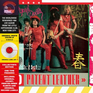 RSD19 THE NEW YORK DOLLS Red Patent Leather