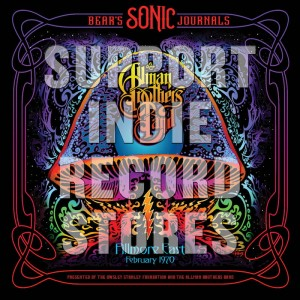 RSD19 ALLMAN BROTHERS BAND Bear's Sonic Journals: Fillmore East. Feburary 1970
