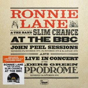 RSD19 RONNIE LANE & SLIM CHANCE At the BBC