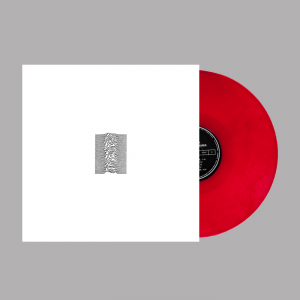 JOY DIVISION Unknown Pleasures: Limited 40th Anniversary Edition Red Vinyl