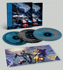 Thunder Force IV SEGA limited DATA018 (3xLP)