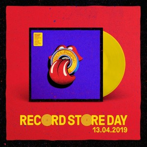 RSD19 ROLLING STONES She's A Rainbow / Live At U Arena, Paris / 25.10.17
