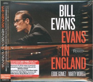 BILL EVANS in England (JAPAN 2xCD)