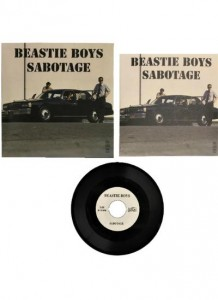 Beastie Boys Sabotage (1x SINGLE FOR RSD3 MINI TURNTABLE)