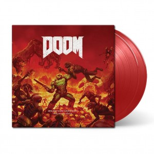 MICK GORDON Doom (Original Game Soundtrack RED 2xLP)