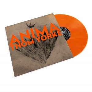 THOM YORKE Anima (LIMITED EDITION ORANGE VINYL - USA)