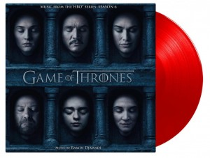Ramin Djawadi 3xLP COLOURED VINYL GAME OF THRONES season 6 (2018 MOVATM125)