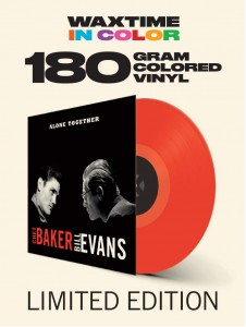 CHET BAKER & BILL EVANS Alone Together (180g COLOR VINYL)