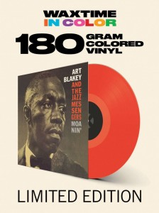 ART BLAKEY AND THE JAZZ MESSENGERS  Moanin' (180g COLOR)