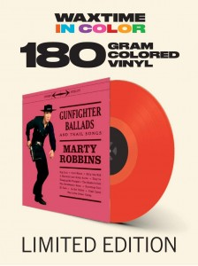 MARTY ROBBINS Gunfighter Ballads And Trail Songs (180g COLOR)