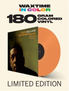 JOHN COLTRANE QUARTET Ballads (180g COLOR)