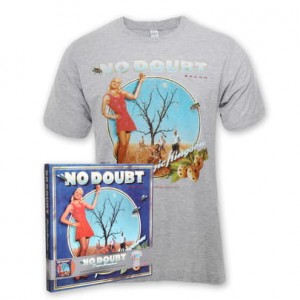 NO DOUBT Tragic Kingdom color vinyl BOX SET + tshirt
