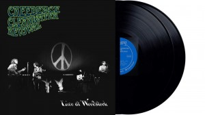 CREEDENCE CLEARWATER REVIVAL Live At Woodstock 2xLP