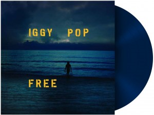 IGGY POP Free (SEA-BLUE COLOR LP)