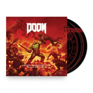 MICK GORDON Doom - 2xCD video game soundtrack