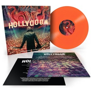 FANGORIA PRESENTS HOLLYDOOM (Original Magazine Soundtrack) COLOR LP