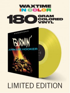 JOHN LEE HOOKER Burnin' (180g COLOR LP)