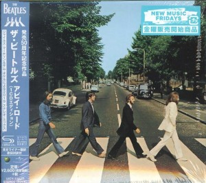 THE BEATLES Abbey Road SHM (Regular Edition UICY-15850)
