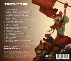 AUSTIN WINTORY Tooth And Tail (CD)