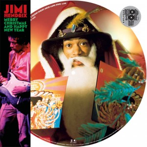 "BF19 JIMI HENDRIX Merry Christmas And Happy New Year (12"" Picture Disc)"