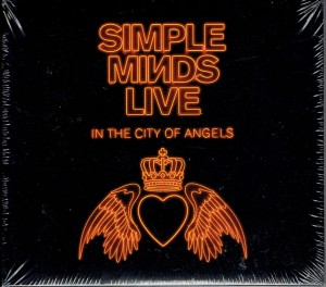 SIMPLE MINDS Live In The City Of Angels (CD z autografem)