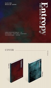 DAY6 Book of Us : Entropy (KPOP CD)