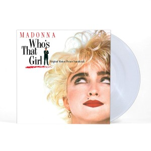 MADONNA Who's That Girl (CLEAR VINYL)