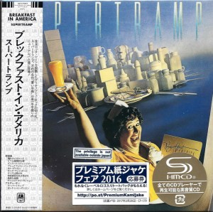SUPERTRAMP Breakfast In America SHM CD Japan (UICY-77877)