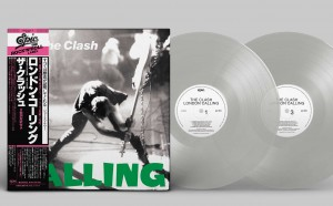 CLASH London Calling (40th ANNIVERSARY JAPAN CLEAR LP)