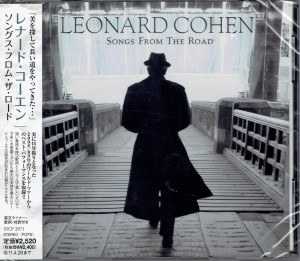LEONARD COHEN Songs From The Road JAPAN CD (SICP-2871)