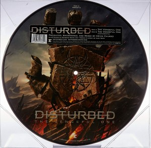 DISTURBED The Vengeful One PICTURE DISC+SLIPMAT