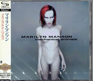MARILYN MANSON Mechanical Animals (JAPAN SHM-CD)