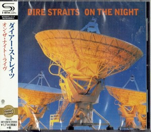 DIRE STRAITS On The Night (JAPAN SHM-CD)
