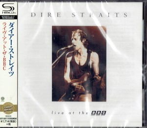 DIRE STRAITS Live At The BBC (JAPAN SHM-CD)