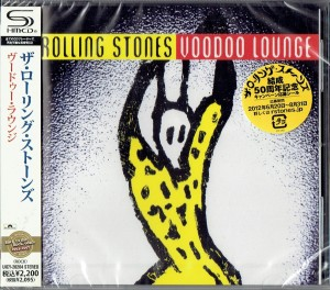 ROLLING STONES Voodoo Lounge SHM-CD Japan UICY-20204