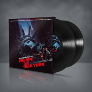 JOHN CARPENTER - OST 2xLP - Escape from New York