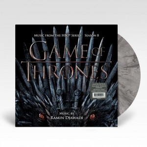 RAMIN DJAWADI Game of Thrones: Season 8 (LP) LIMITED THE IRON THRONE VERSION