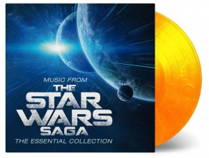 JOHN WILLIAMS  Music From The Star Wars Saga - The Essential Collection (FLAME COLOR)