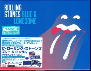 THE ROLLING STONES Blue and Lonesome JAPAN DELUXE SHM (UICY-78026)