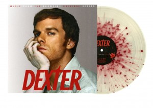 DEXTER OST red splatter OST SHOWTIME color edition