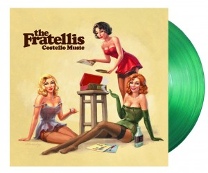 THE FRATELLIS Costello Music (GREEN LP)