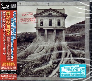 BON JOVI This House Is Not For Sale JAPAN SHM-CD + DVD DELUXE (UICL-9112)