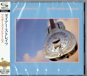 DIRE STRAITS Brothers In Arms (JAPAN SHM-CD UICY-25011)
