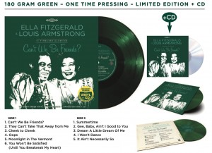 ELLA FITZGERALD & LOUIS ARMSTRONG Can't We Be Friends (COLOR LP+CD)