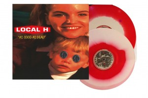 LOCAL H As Good As Dead 2xLP COLOR RED/WHITE SWIRL