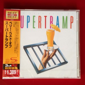 SUPERTRAMP Very Best Of SHM CD JAPAN UICY-76327