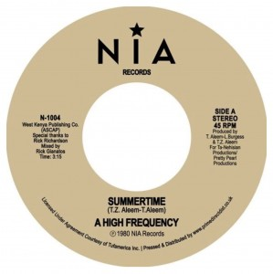RSD20 HIGH FREQUENCY Summertime