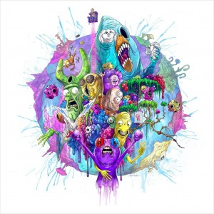 ASY SAAVEDRA Trover Saves The Universe: Original Video Games Soundtrack (LP)