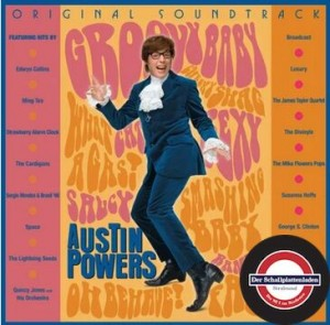 RSD20 Austin Powers: International Man Of Mystery (USA ORANGE/ PINK) 2xLP